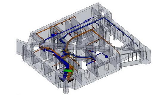 Проектирование системы дымоудаления